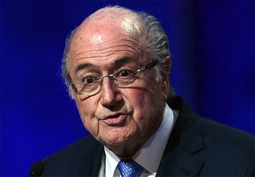 Chủ tịch FIFA Sepp Blatter.