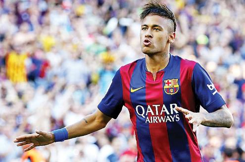 Neymar là bản hợp đồng mơ ước của Man Utd. Ảnh: Reuters.