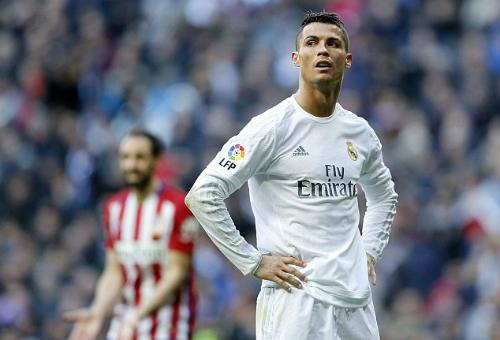 Ronaldo xếp thứ hai danh sách săn bàn ở Liga mùa này. Ảnh: AFP.