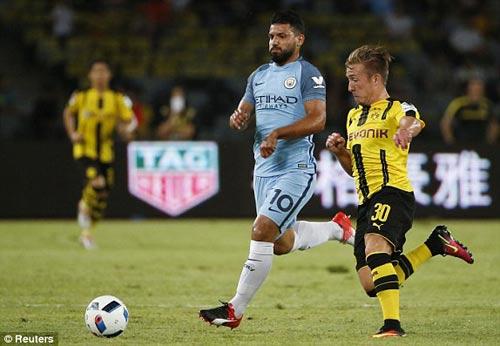 Man City 1 – 1 Dortmund: Màn đôi công quá hấp dẫn