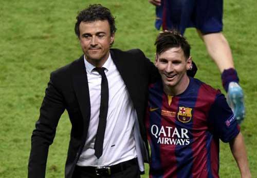 Nếu Enrique và Messi ra đi Barca sẽ không có người thay thế