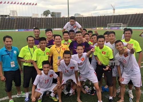 U16 Việt Nam vs U16 Campuchia: Chứng minh sức mạnh