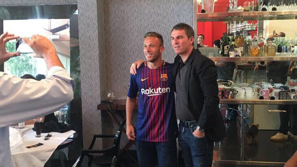 Sao Barazill chuẩn bị chuyển tới Barca