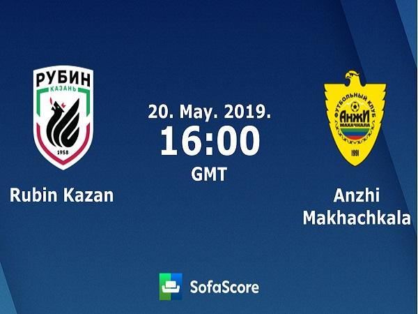 Nhận định Rubin Kazan vs Anzhi, 23h00 ngày 20/05