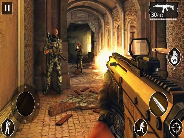 Modern Combat thuộc top game bắn súng hay