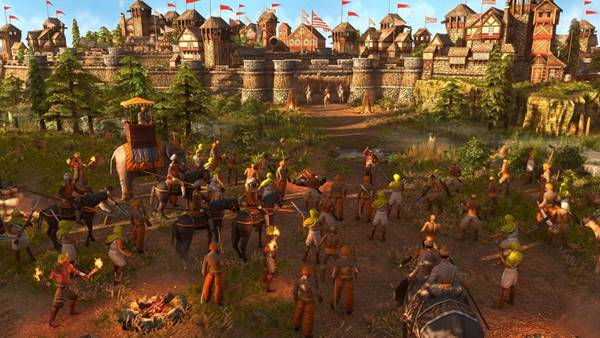 Series Age of Empires top game chiến thuật