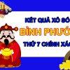 Thống kê XSBP 8/5/2021 chốt bạch thủ lô Bình Phước thứ 7
