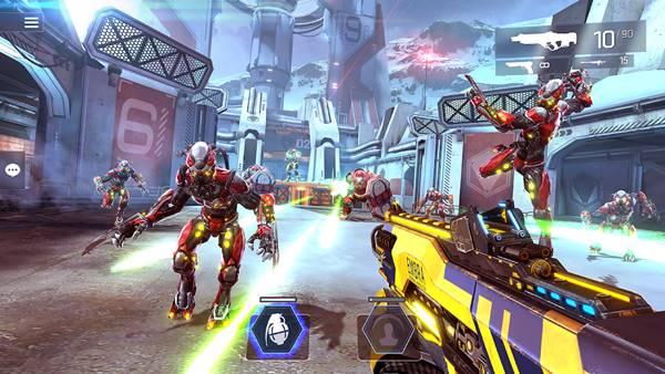 Shadowgun Legends - Game iOS hay đáng chơi