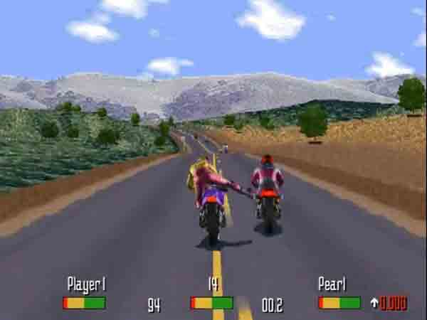 Game chạy xe RoadRash 2017