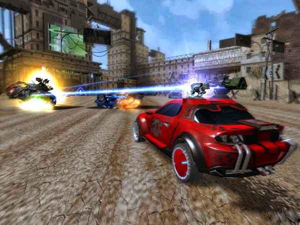 Tìm hiểu về game đua xe bắn súng