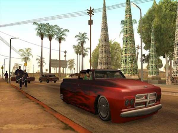 Game nhẹ mà hay Grand Theft Auto: San Andreas
