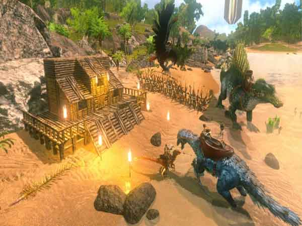 Game sinh tồn Mobile Ark: Survival Evolved