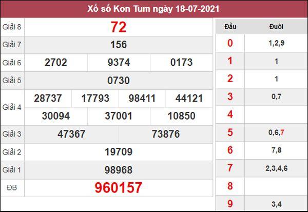 Nhận định KQXS Kon Tum 25/7/2021 chủ nhật chuẩn xác nhất