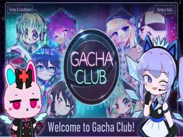 Gacha Club - Game gacha hay
