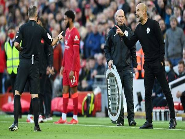 Bóng đá Anh 4/10: Guardiola tố trọng tài thiên vị Liverpool và MU